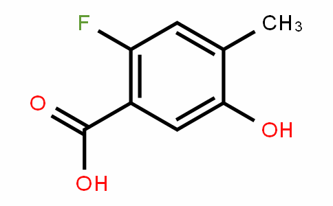 870221-14-0 | 2-fluoro-5-hydroxy-4-methylbenzoic acid