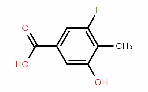 887267-08-5 | 3-fluoro-5-hydroxy-4-methylbenzoic acid