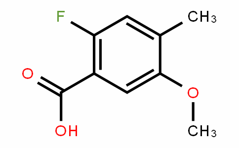 870221-15-1 | 2-Fluoro-5-methoxy-4-methylbenzoic acid