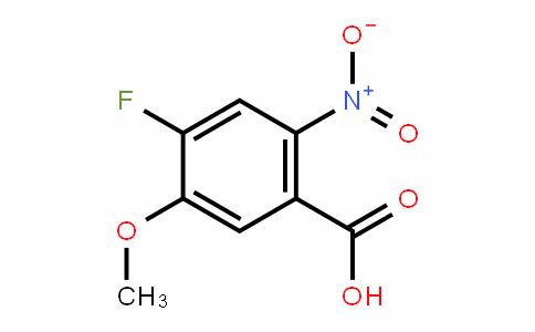 864293-50-5   4-Fluoro-5-methoxy-2-nitrobenzoic acid