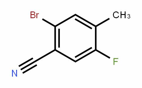 916792-11-5 | 2-溴-5-氟-4-甲基苯甲腈