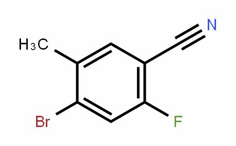 916792-13-7 | 4-溴-2-氟-5-甲基苯甲腈