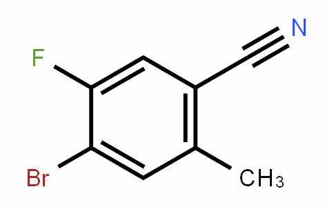 916792-15-9 | 4-Bromo-5-fluoro-2-methylbenzonitrile
