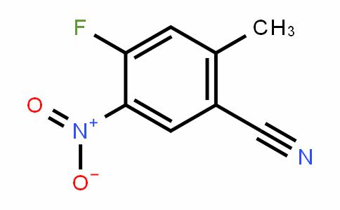 932375-18-3 | 4-Fluoro-5-nitro-2-methylbenzonitrile