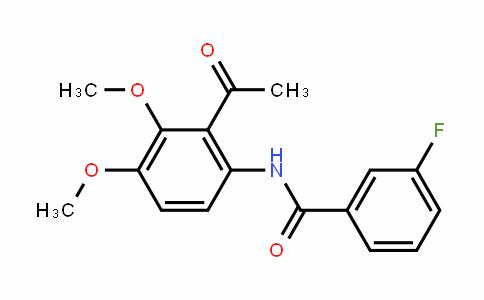 1256037-07-6 | N-(2-乙酰基-3,4-二甲氧基苯基)-3-氟苯甲酰胺