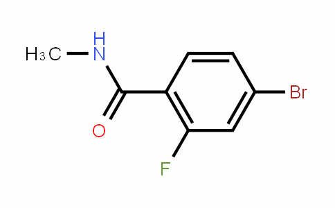 749927-69-3 | N-methyl-4-bromo-2-fluorobenzamide