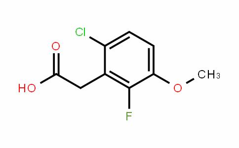 1017777-83-1 | 6-Chloro-2-fluoro-3-methoxyphenyl acetic acid
