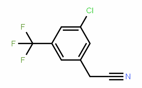886496-95-3 | 3-Chloro-5-(trifluoromethyl)phenylacetonitrile