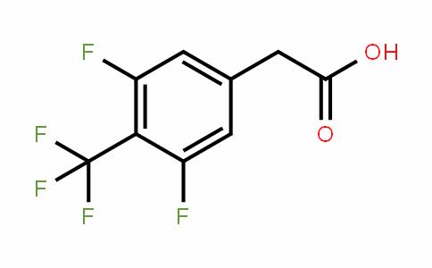 132992-26-8 | 3,5-Difluoro-4-(trifluoromethyl)phenylacetic acid