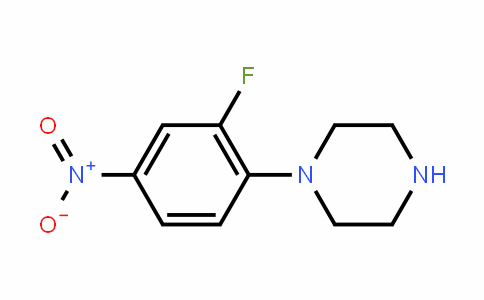 154590-33-7 | 1-(2-Fluoro-4-nitrophenyl)piperazine