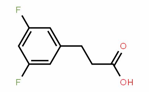 84315-24-2   3-(3,5-Difluorophenyl) propionic acid