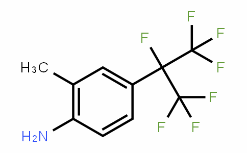 238098-26-5 | 2-Methyl-4-(1,1,1,2,3,3,3-heptafluoro-2-propyl)aniline