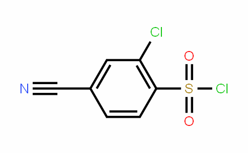254749-11-6 | 2-Chloro-4-cyanobenzenesulfonyl chloride