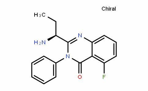 870281-86-0 | (S)-2-(1-aMinopropyl)-5-fluoro-3-phenylquinazolin-4(3H)-one
