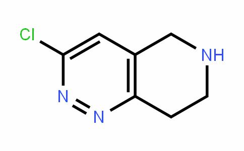 45882-63-1 | 3-Chloro-5,6,7,8-tetrahydropyrido[4,3-c]pyridazine
