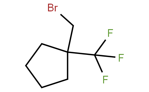 2091636-18-7 | 1-(Bromomethyl)-1-(trifluoromethyl)cyclopentane