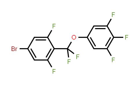 511540-64-0 | 5-[(4-Bromo-2,6- difluorophenyl)diflu oromethoxy]-1,2,3- trifluorobenzene