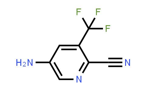 573762-62-6 | 5-Amino-3-(trifluoromethyl)picolinonitrile