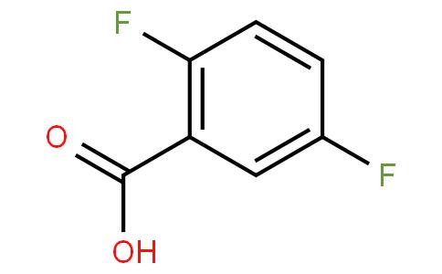 2991-28-8   2,5-Difluorobenzoic acid
