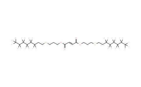 56927-83-4 | Bis[3-(1H,1H,2H,2H-perfluorooctylthio)propyl]fumarate