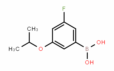 850589-54-7 | 3-Fluoro-5-isopropoxybenzeneboronic acid
