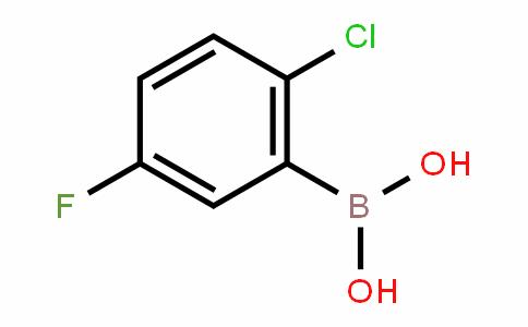 444666-39-1 | 2-Chloro-5-fluorobenzeneboronic acid