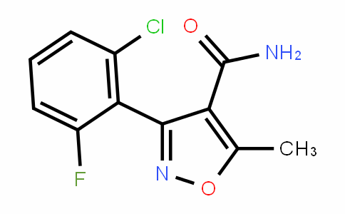4415-11-6 | 3-(2-Chloro-6-fluorophenyl)-5-methylisoxazole-4-carboxamide