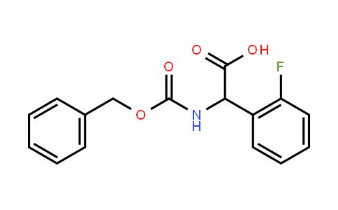 12441-53-8 | N-(Z)-Benzyloxycarbonyl-2-fluorophenylglycine