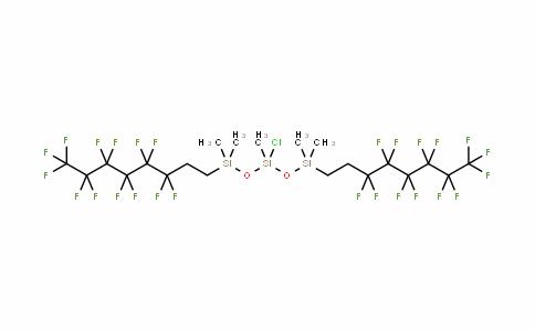 521069-01-2   Bis[(1H,1H,2H,2H-perfluorooctyl)dimethylsiloxy]chloromethylsilane