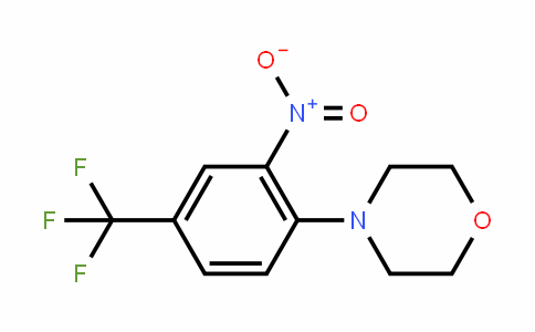 62054-72-2 | N-[2-Nitro-4-(trifluoromethyl)phenyl]morpholine