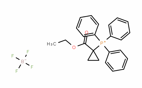 52186-89-7 | [1-(Ethoxycarbonyl)cyclopropyl]tris(phenyl)phosphonium tetrafluoroborate