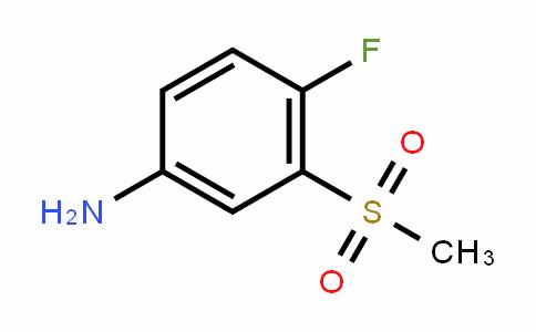 914636-44-5 | 4-Fluoro-3-(methylsulphonyl)aniline