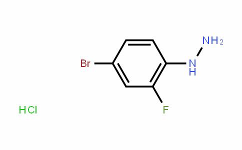 502496-24-4 | 4-Bromo-2-fluorophenylhydrazine hydrochloride