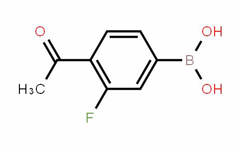 481725-35-3 | 4-Acetyl-3-fluorobenzeneboronic acid
