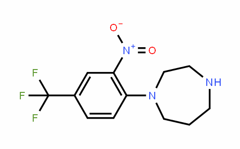 646455-48-3   1-[2-Nitro-4-(trifluoromethyl)phenyl]homopiperazine