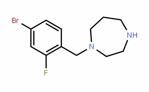 646455-62-1   1-(4-Bromo-2-fluorobenzyl)-1,4-diazepane