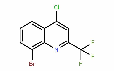 655235-61-3 | 8-Bromo-4-chloro-2-(trifluoromethyl)quinoline