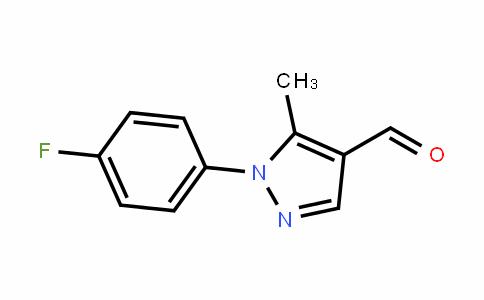 423768-41-6 | 1-(4-Fluorophenyl)-5-methyl-1H-pyrazole-4-carboxaldehyde