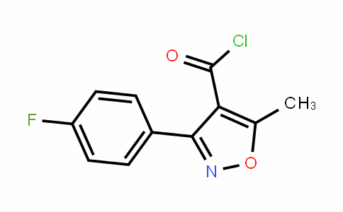 465514-05-0   3-(4-Fluorophenyl)-5-methylisoxazole-4-carbonyl chloride