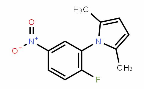 465514-85-6 | 2,5-Dimethyl-1-(2-fluoro-5-nitrophenyl)-1H-pyrrole