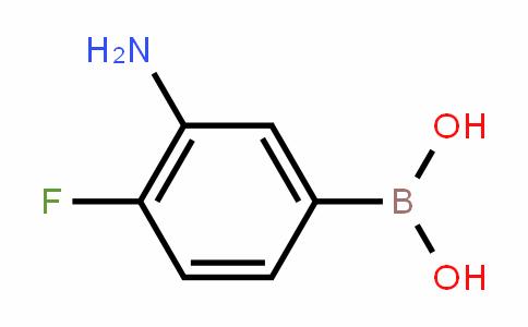 873566-75-7 | 3-Amino-4-fluorobenzeneboronic acid