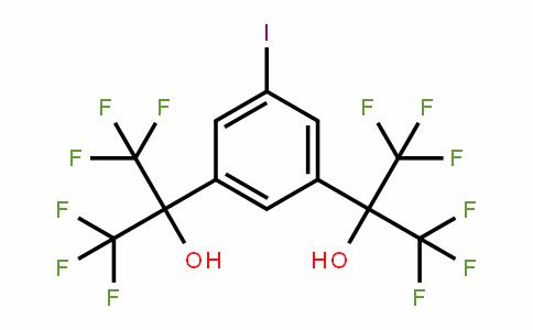 53173-72-1 | 2,2'-(5-Iodobenzene-1,3-diyl)bis(1,1,1,3,3,3-hexafluoropropan-2-ol)