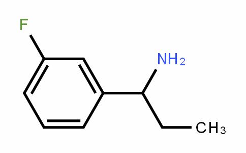 473732-57-9 | 1-(3-Fluorophenyl)propylamine