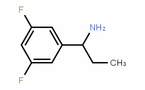 473732-61-5 | 1-(3,5-Difluorophenyl)propylamine
