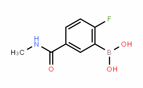 874289-40-4 | 2-Fluoro-5-(methylcarbamoyl)benzeneboronic acid