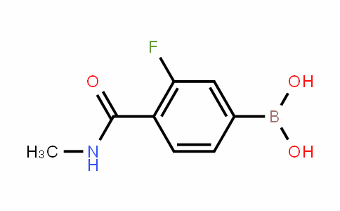 849833-86-9 | 3-Fluoro-4-(methylcarbamoyl)benzeneboronic acid