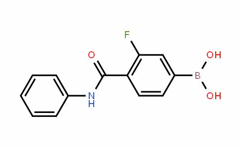 874288-40-1 | 3-Fluoro-4-(phenylcarbamoyl)benzeneboronic acid