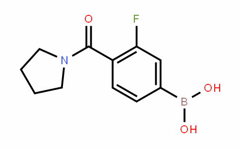 874289-09-5 | 3-Fluoro-4-(pyrrolidin-1-ylcarbonyl)benzeneboronic acid