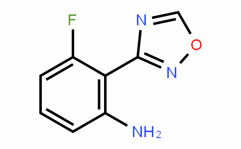 519056-63-4 | 3-Fluoro-2-(1,2,4-oxadiazol-3-yl)aniline