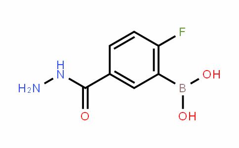 874289-56-2 | 2-Fluoro-5-(hydrazinocarbonyl)benzeneboronic acid